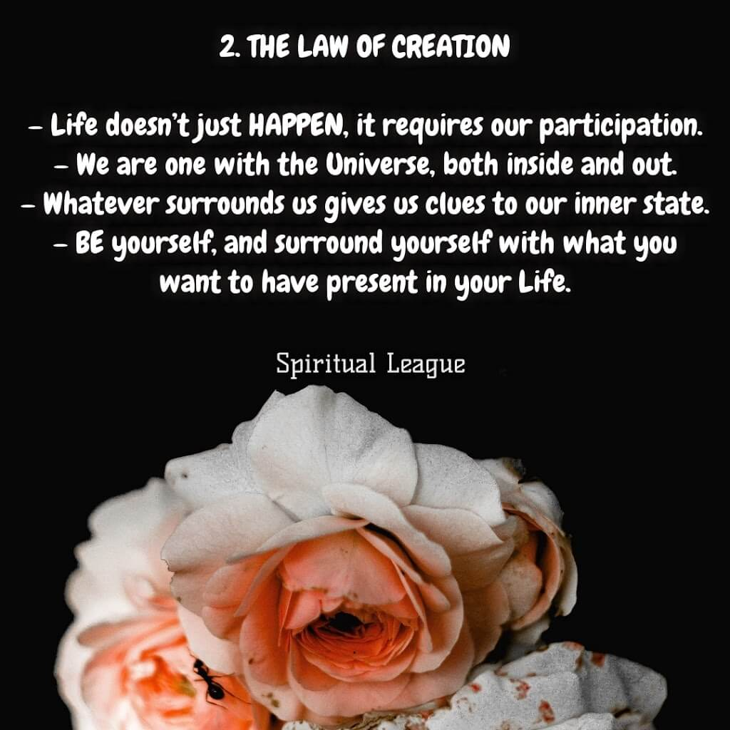 12 laws of karma the law of creation