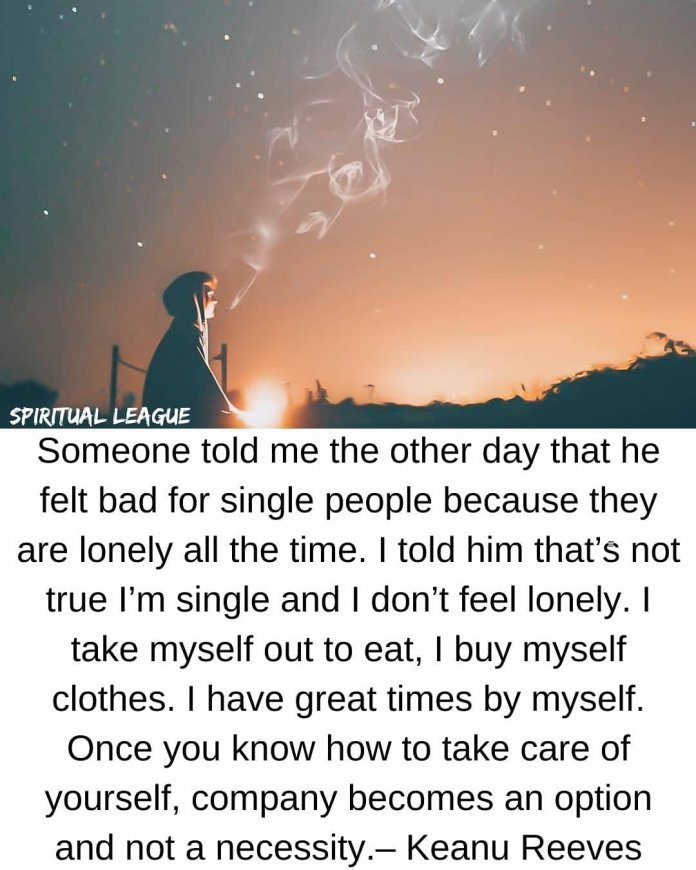 self love keanu reeves quote