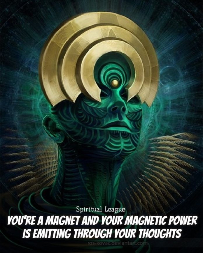 you are a magnet