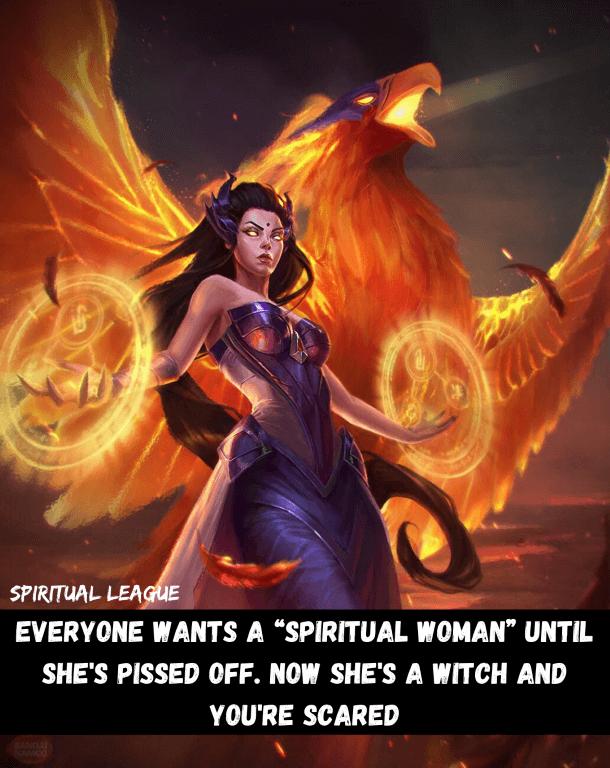 Everyone wants spiritual women